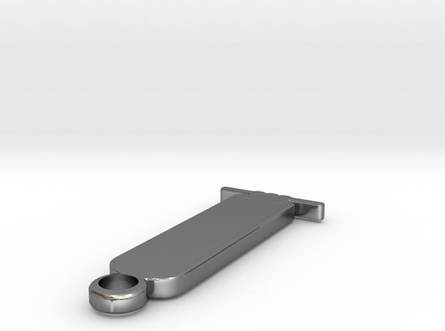 123DDesignDesktopSel in Polished Silver