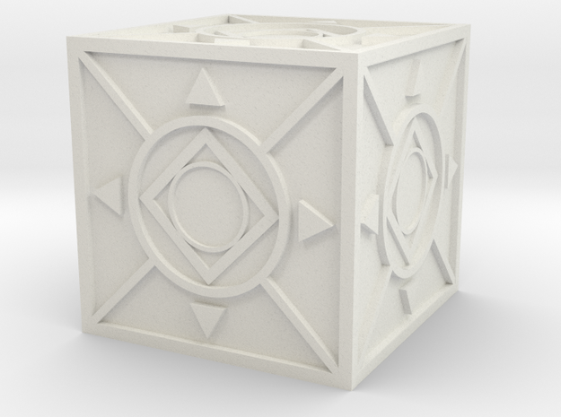 Jedi Holocron 2 in White Strong & Flexible