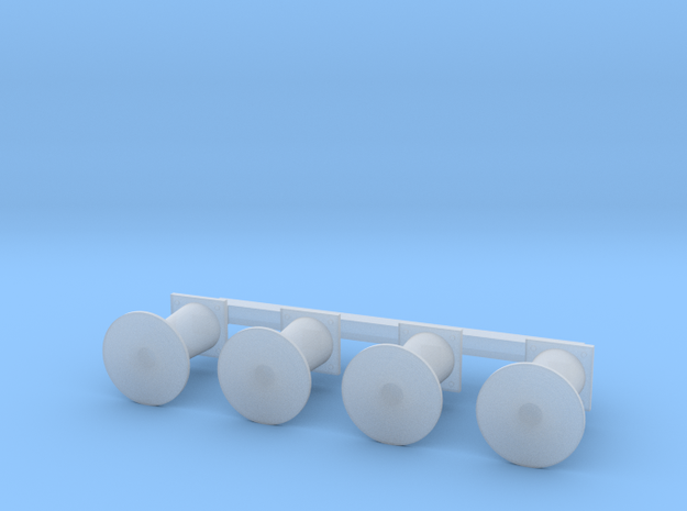 OO Scale NWR #2/#3/#6/#7 Buffers in Smoothest Fine Detail Plastic