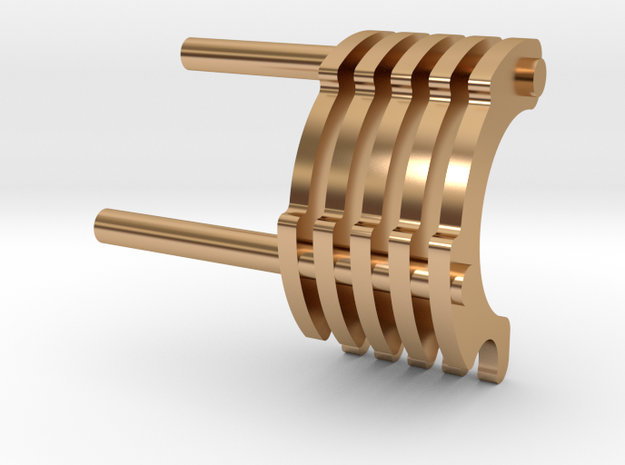 LS6 CC fins in Polished Bronze