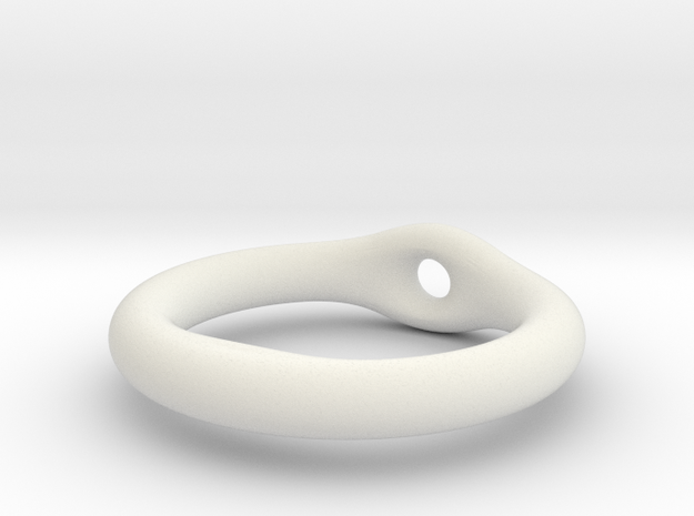 ring lashing in White Natural Versatile Plastic