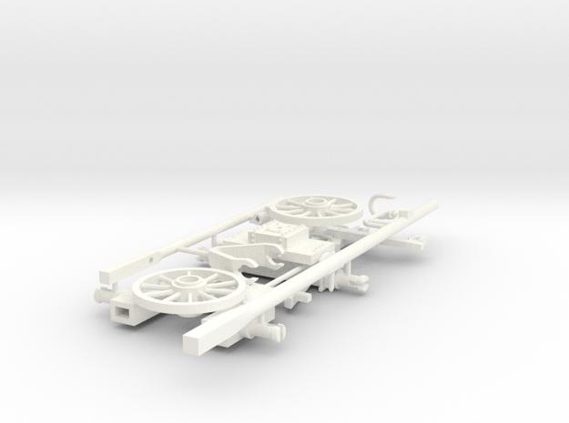 FARDIER BOB  in White Processed Versatile Plastic