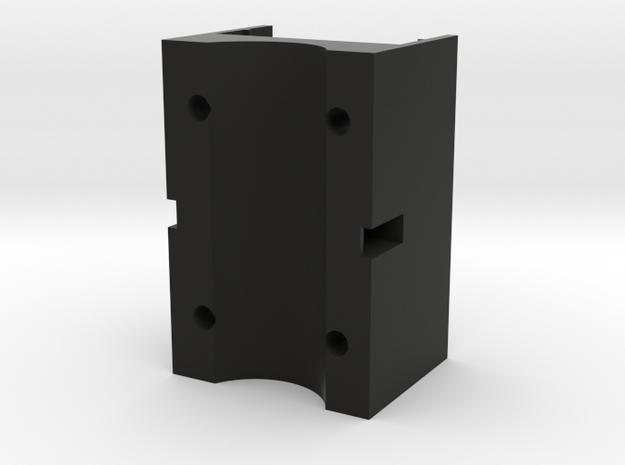 mobius maxi single mount (larger barrel mount) in Black Natural Versatile Plastic
