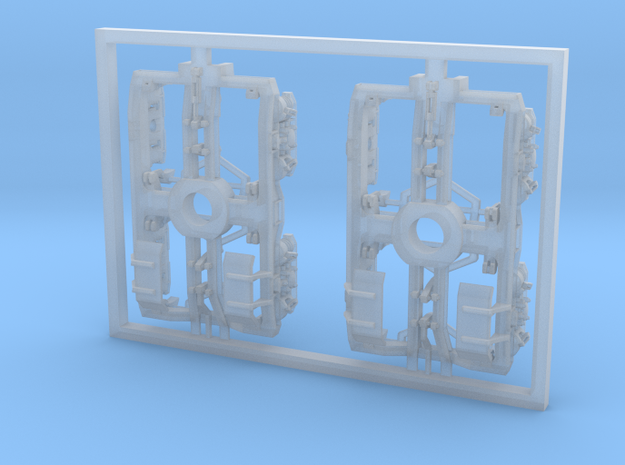 SBK00-001-00 Drehgestell Set Containertragwagen de in Smooth Fine Detail Plastic