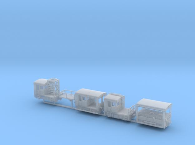 1:220 Set SBB Rhb Schweiz 4x Rangiertraktor  in Smooth Fine Detail Plastic