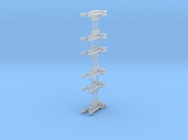 AA-11 Archer 2-Rack in Smooth Fine Detail Plastic