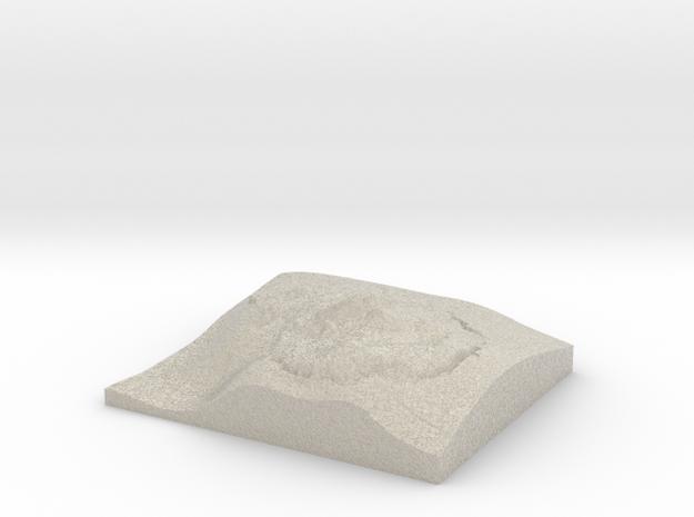 Model of Siba - Roncone in Natural Sandstone
