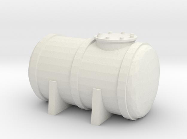 Petrol Tank 1/120 in White Natural Versatile Plastic