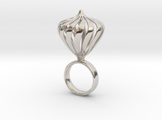 Waka - Bjou Designs in Rhodium Plated Brass