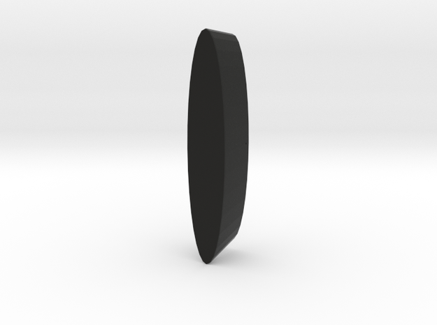 Wheel Pod for RC aircraft 40mmx15mm foam tire. 3d printed