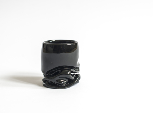 Wrinkly Espresso Cup 3d printed