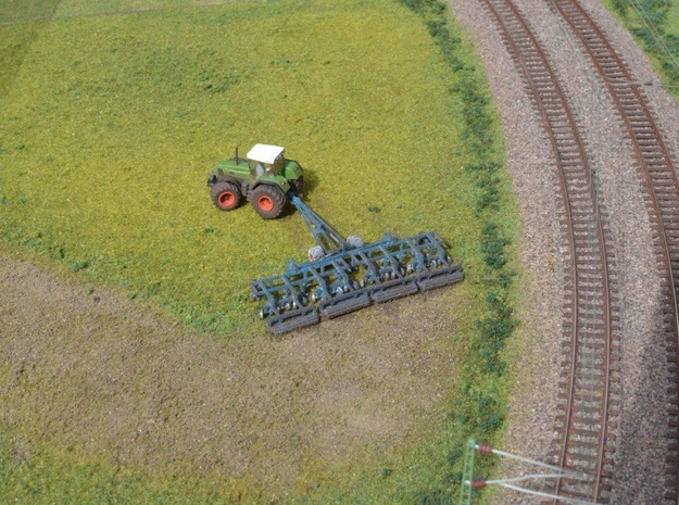 1:160/N-Scale Lemken Gigant 1000  in Smooth Fine Detail Plastic