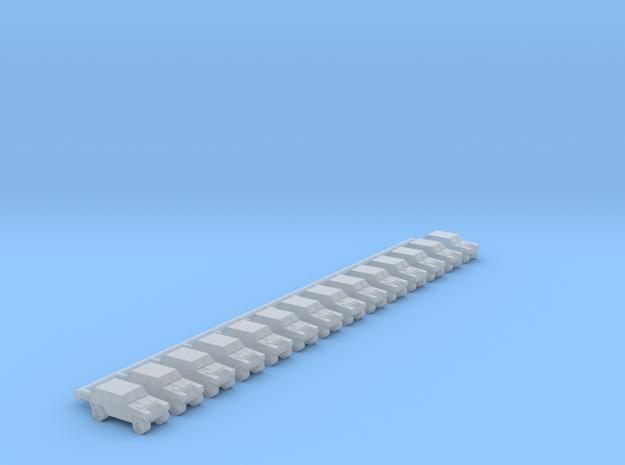 1/700 Komatsu LAV (x14) in Smooth Fine Detail Plastic