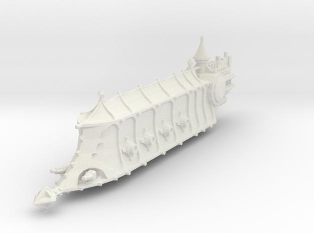 Crucero Antiguo clase Carnicero in White Natural Versatile Plastic