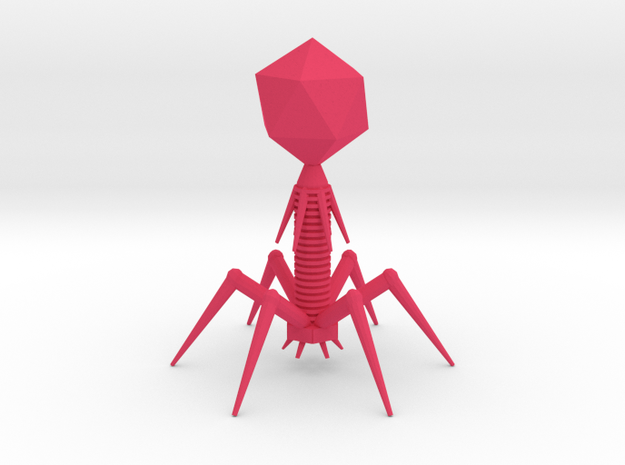 Enlarged Virus 3d printed