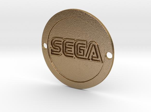 Sega Custom Sideplate in Polished Gold Steel