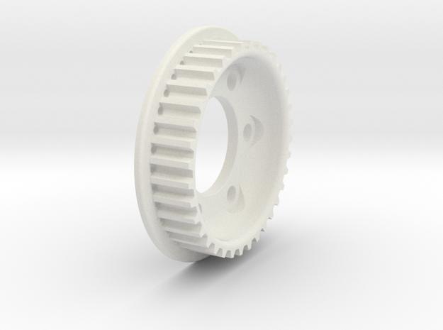 Jabber 36T rear Spur in White Natural Versatile Plastic