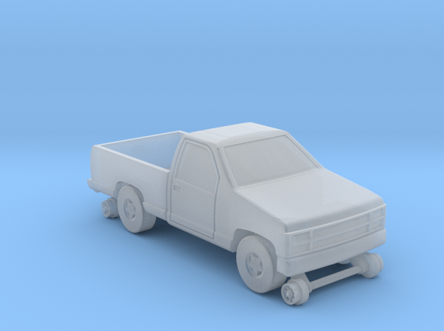 MOW Pickup Truck - Z Scale 3d printed