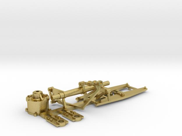NS 5500 / HSM 700 remwerk set in Natural Brass