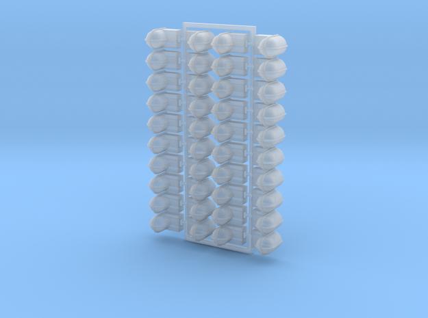 40 Stk Decksleuchten / 40 PCs Deck lights 1:50 in Smoothest Fine Detail Plastic