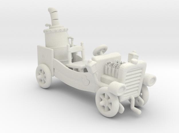 Wacky Racer ARKANSAN CHUGGABUG 160 scale in White Natural Versatile Plastic