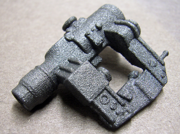 1/6 scale Russian Pk-A Optics Combat SIght 3d printed painted metallic gray