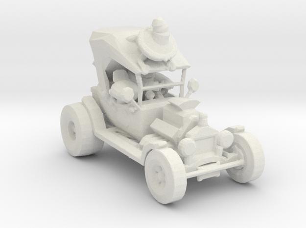 Car-Toons Hotrod 160 scale. in White Natural Versatile Plastic