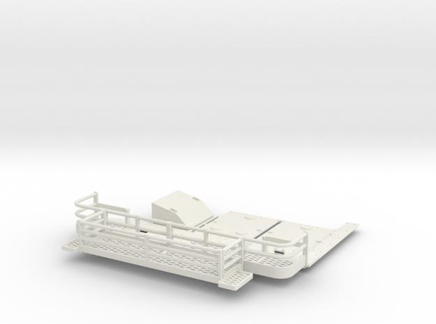 1:18 tusk suppliment parts v2 in White Natural Versatile Plastic