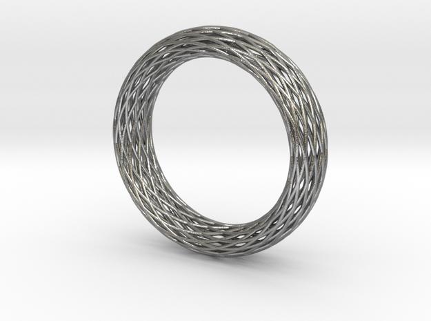 Toroidal Knot Bangle 3d printed