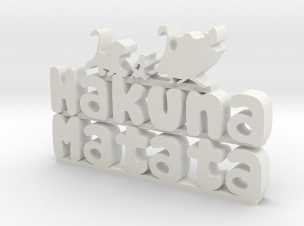 Hakuna Matata Sign