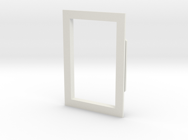 03 Window Frame in White Natural Versatile Plastic