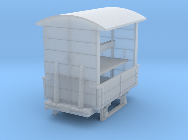 a-87-gr-turner-covered-wagon in Smooth Fine Detail Plastic