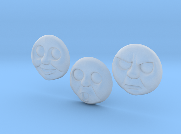 Thomas Faces 1-3# [H0/00] in Smooth Fine Detail Plastic