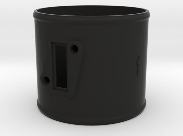 100mm adaptor Hitachi air meter in Black Natural Versatile Plastic