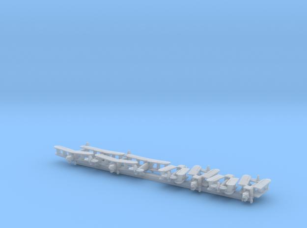 Blackburn Dart x8 (WW2) in Smooth Fine Detail Plastic: 1:700