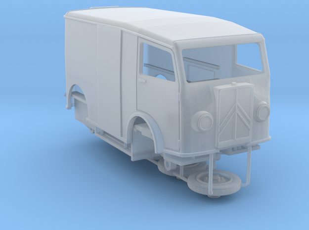 1:72 Citroen TUB van in Smooth Fine Detail Plastic