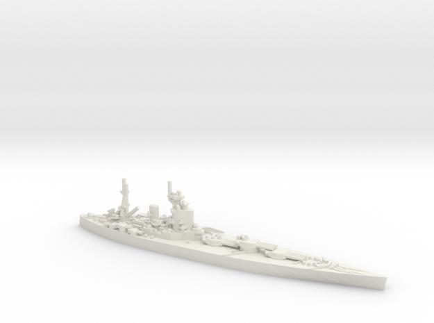 UK Nelson-class Battleship in White Natural Versatile Plastic