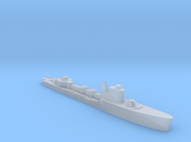 Italian Cassiopea torpedo boat 1:1800 WW2 in Smoothest Fine Detail Plastic