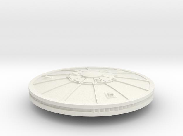 3788 Scale Sigvirion Escort Frigate MGL in White Natural Versatile Plastic