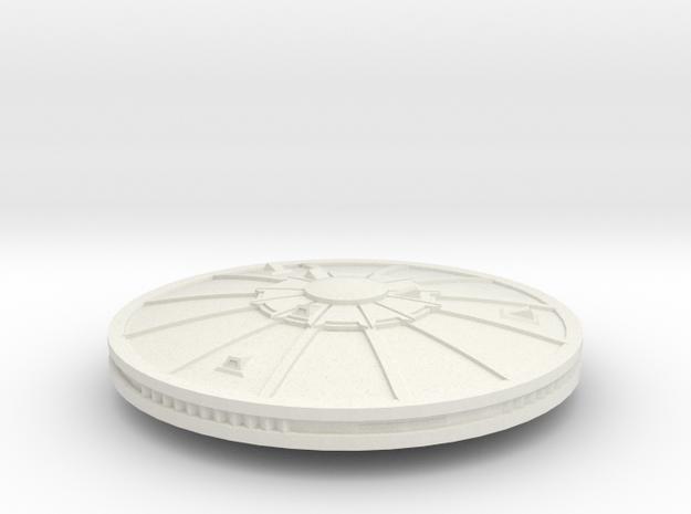 3125 Scale Sigvirion Escort Frigate MGL in White Natural Versatile Plastic