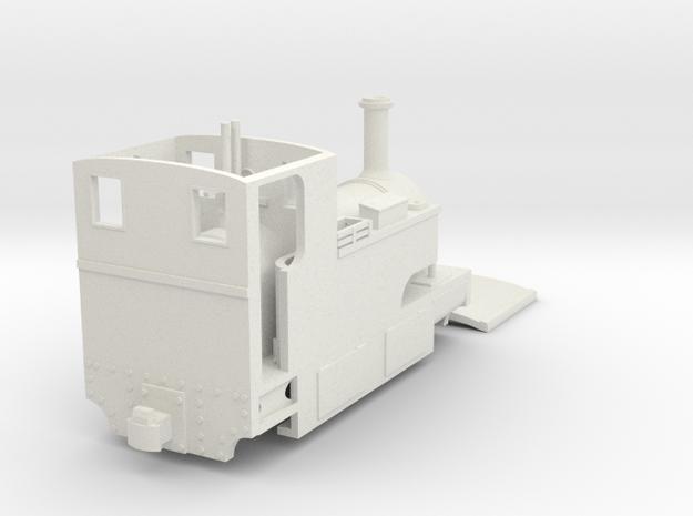 Bingley Works 009 Sidetank Cheaper model COUPLING  in White Natural Versatile Plastic