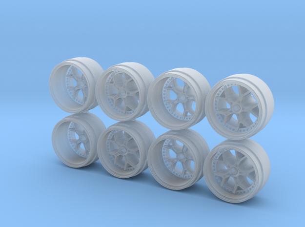 Frg GTR 9-0 Hot Wheels Rims in Smoothest Fine Detail Plastic