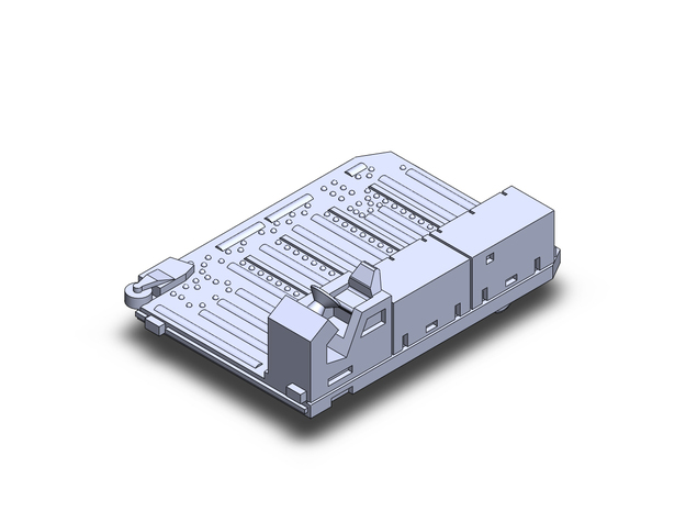 PulsarSL Container Transport  in Smoothest Fine Detail Plastic: 1:400