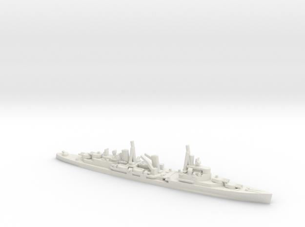 British Town-Class Cruiser in White Natural Versatile Plastic