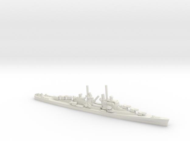 US Atlanta-Class Cruiser (v1) in White Natural Versatile Plastic