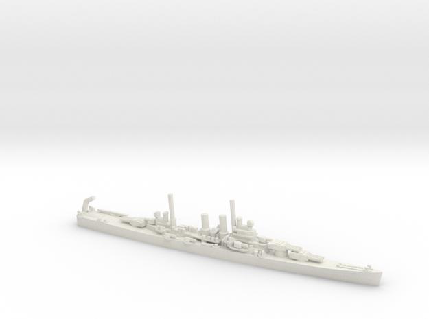 USS Wichita (CA-45) in White Natural Versatile Plastic: 1:1800