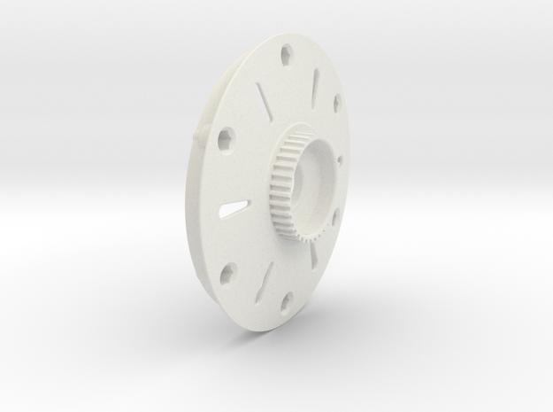Jabber Disc GRP/Roadies 36T in White Natural Versatile Plastic