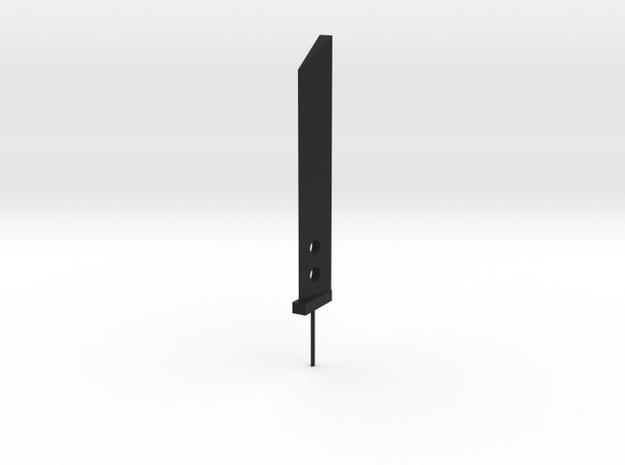 Mini Buster Sword in Black Natural Versatile Plastic