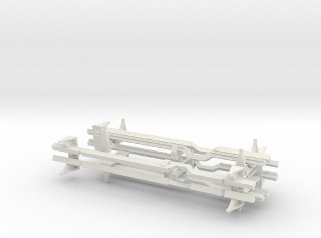 Torpedorack 1 to 40 in White Natural Versatile Plastic