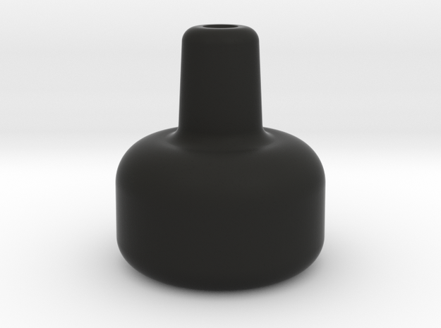 """1.45"""" 10-32 THROTTLE KNOB in Black Natural Versatile Plastic"""